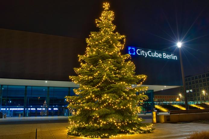 Kundenevents mit Weihnachtsbaum bei euch